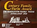 Markusson Farm Award